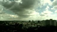 Timelapse-Cloudscape Los Angeles video