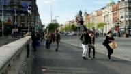 Timelapse:Dublin O'Connel Bridge video