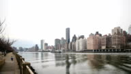 HD Time-lapse:East River in New york video