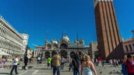 Timelapse:Piazza San Marco, Venice, Italy video