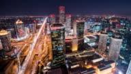 timelapse-skyline of Beijing video