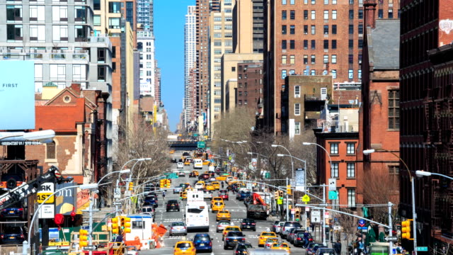 HD Time-lapse:Streets of New-York video