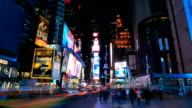 HD Time-lapse:Times Square, New York City video
