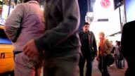Times Square in New York City - People Walking video