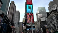 Times Square in New York, USA video