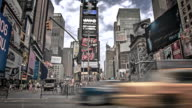 Times Square in New York video