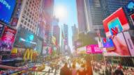Times Square, Manhattan. video