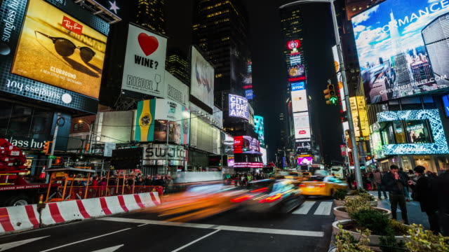 TIME LAPSE: Times Square New York City, USA video