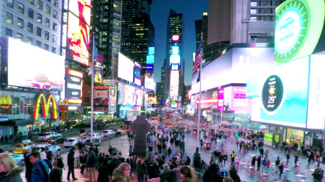 Times Square New York City video