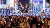 Times Square Time Lapse People video