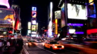 Times Square Time Lapse video