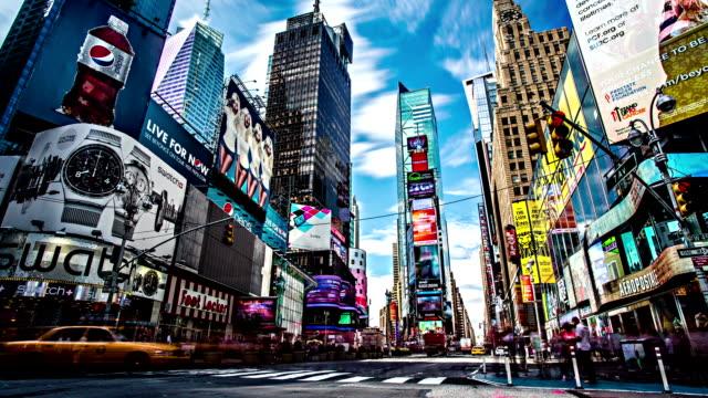 Times Square timelapse VETTA video