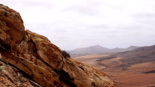 Tindaya Mountain views looking towards East - Fuerteventura video