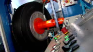 Tire Retreading Machine in Industrial Factory video