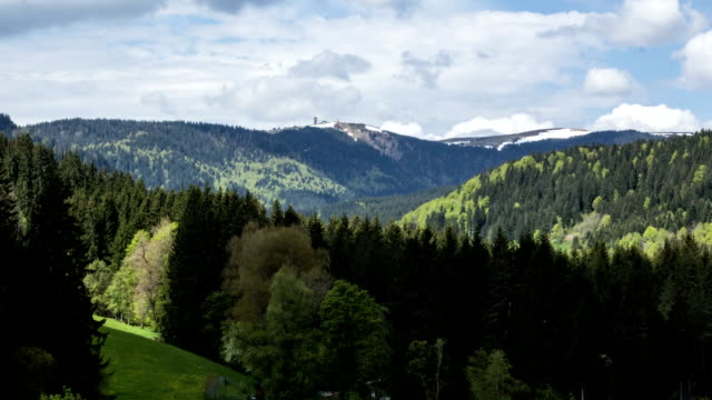 Titisee-Feldberg Timelaps video