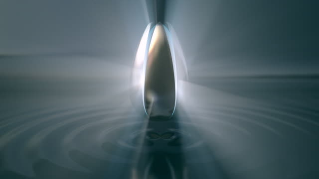 Titles. Background. Lotus flower opening - symbol of enlightement video