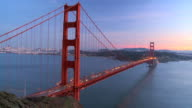T/lapse Traffic on Golden Gate Bridge video
