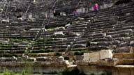 Tlos ancient city from Fethiye. Mugla / Turkey. video