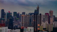 4K TIME LAPSE NIGHT to DAY (4096x2160) : The cityscape at Singapore (Apple ProRes. 422(HQ) video