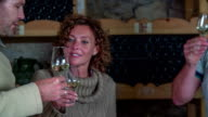 Toast before you try wine video