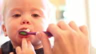 Toddler Teeth Brushing video