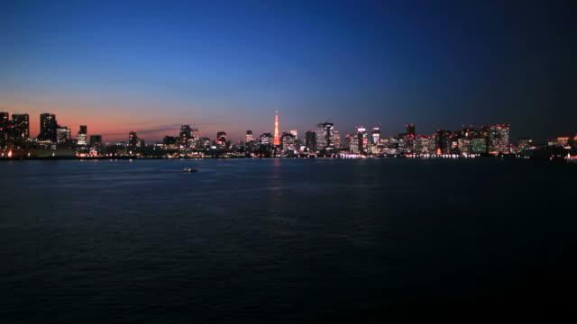 Tokyo at dark night(timelapse) video