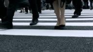 Tokyo Crossing Street video