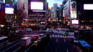 Tokyo Shibuya Crossroad Timelapse video