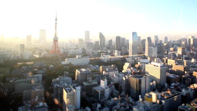 Tokyo Skyline Sunset video