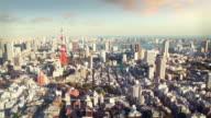 Tokyo skyline video