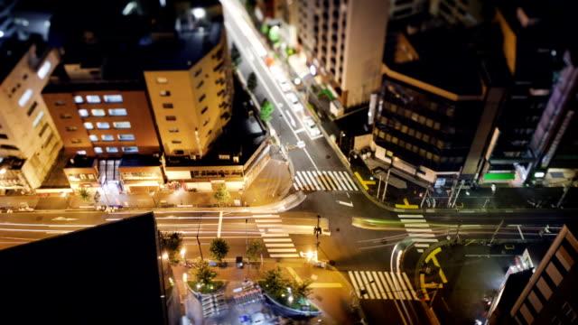 Tokyo Street Time Lapse video