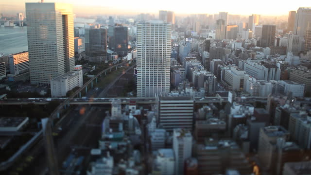Tokyo Tilt Shift Traffic video