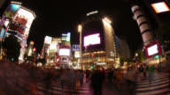 4K UHD Tokyo Time Lapse - Famous Shibuya Crossing video