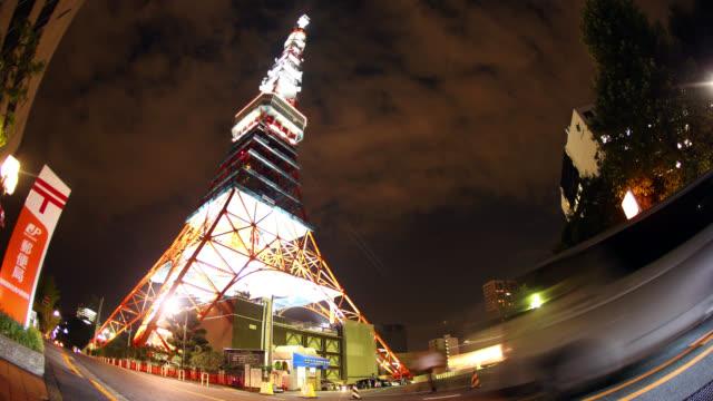 4K UHD Tokyo Time Lapse - Tokyo Tower video