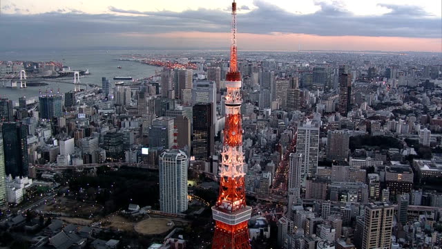 TokyoTower day time video