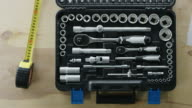 toolbox with varity of box spanner video