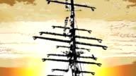 toon: sails over sky [iii] video