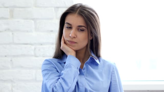 Toothache, Woman with Tooth Infection video