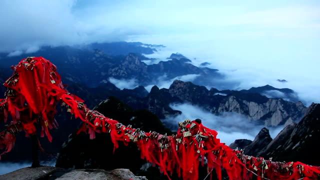 Top Huashan Mountains video