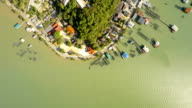 Top view small island video