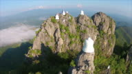Top View Wat Chalermprakiat Prajomklao Rachanusorn Temple video