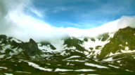 tops of mountains - Alps video