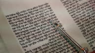 Torah Scroll Pointer video