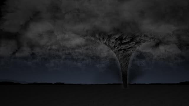 Tornado Storm Scene video