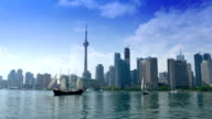 Toronto Canada Establishing Shot video