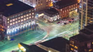 Toronto, Canada, Timelapse  - King & Spadina at Night video