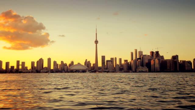 Toronto, Canada, Video  - Toronto at Sunset video