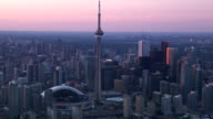 Toronto Ontario City Skyline video