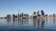 Toronto waterfront. Wide. video