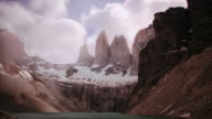 Torres del Paine. Chile HD timelapse video